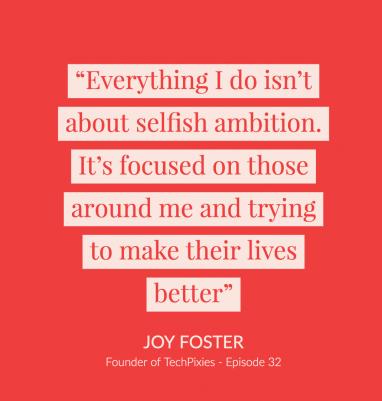 Joy foster